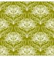 Vintage floral damask pattern vector image