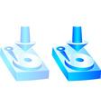 HDD icon vector image