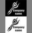 logo sceptre vector image