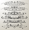 decorative page design 2 vector image