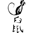 Primitive Chinese Zodiac Sign- Rat vector image