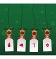 Reindeer Label vector image