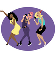 Girls night out vector image