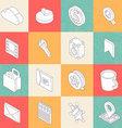 Modern Flat Icons 1 vector image