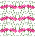 carnation pattern vector image vector image
