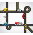 road concept design vector image