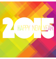 2015 colorful design vector image vector image