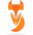 Fox icon and element vector image