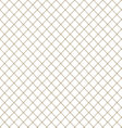 Seamless pattern mesh line vector image