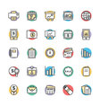 Finance Cool Icons 5 vector image