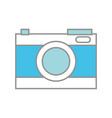 line color digital camera technology to focus vector image