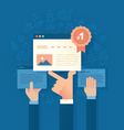 Improving Search Engine Ranking vector image