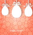 egg gift vector image vector image