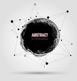 Abstract grunge background Grunge hand drawn stain vector image