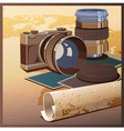 photos and travels vector image