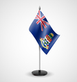 Table flag of Cayman Islands vector image