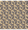 3d abstract geometric seamless background vector image