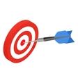 Target isometric icon vector image