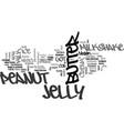 best recipes peanut butter and jelly milkshake vector image