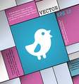 chicken Bird icon sign Modern flat style for your vector image