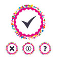 information icons question faq symbol vector image