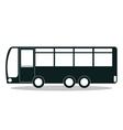 bus icon design vector image