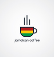 coffee cup theme vector image