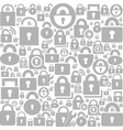 Lock a background vector image vector image