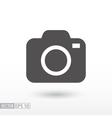 Camera - flat icon vector image