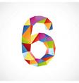 6 color vector image vector image