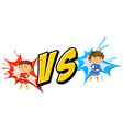 Fighting vector image vector image