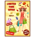 Best Offer In Shop Poster vector image