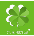 St Patrick Day sticker vector image vector image