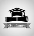 graduation concept design vector image