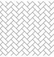 herringbone parquet diagonal seamless pattern vector image