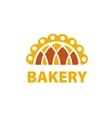 logo for bakery vector image