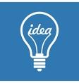 Creative Idea in Bulb Shape as Inspiration Concept vector image vector image