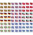 Uganda Costa Rica Kyrgyzstan Germany Puerto Rico vector image