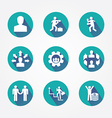 Set design concept icons and apps Icons vector image