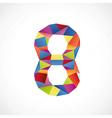 8 color vector image vector image
