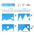 Golden RatioGolden Proportion vector image
