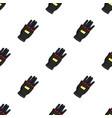 virtual reality glove controller icon in cartoon vector image