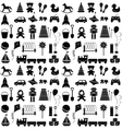 Toys icons Seamless pattern vector image
