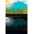 Day and night in Modern Flat Design with vector image vector image