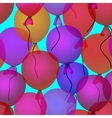 balloons in sky seamless pattern background vector image