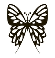 Collection butterfly icon simple style vector image