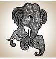 Elephant Fine art vector image