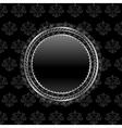 heraldic circle shield vector image
