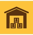 The warehouse icon Storehouse and logistic symbol vector image