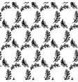 spring leaf brush seamless pattern vector image